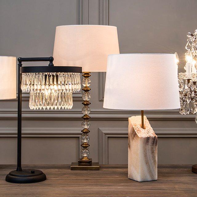 Wnętrze pełne blasku - sprawdź różne style oświetlenia