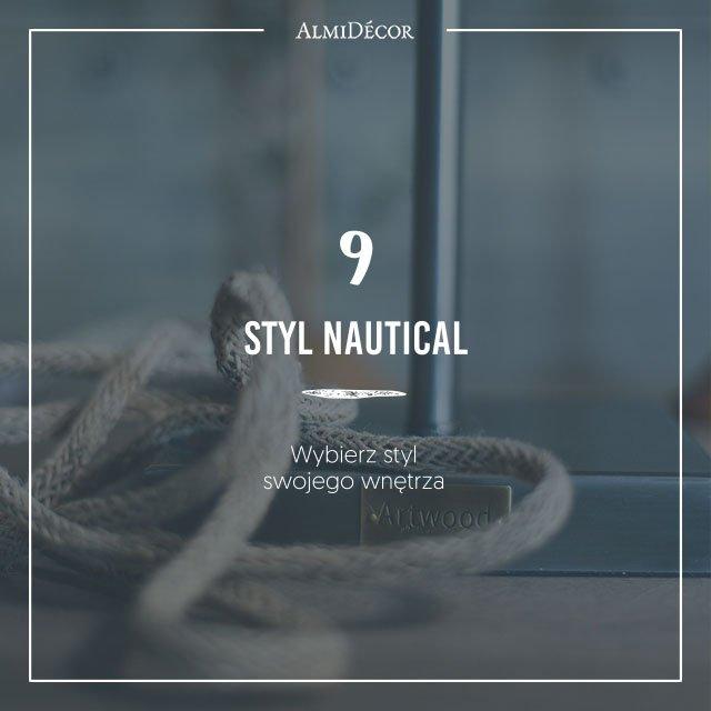 Wnętrze w stylu nautical