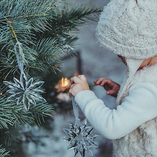 Wnętrze inspirowane zimą