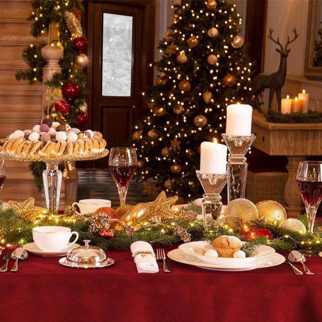 Jak nakryć świąteczny stół