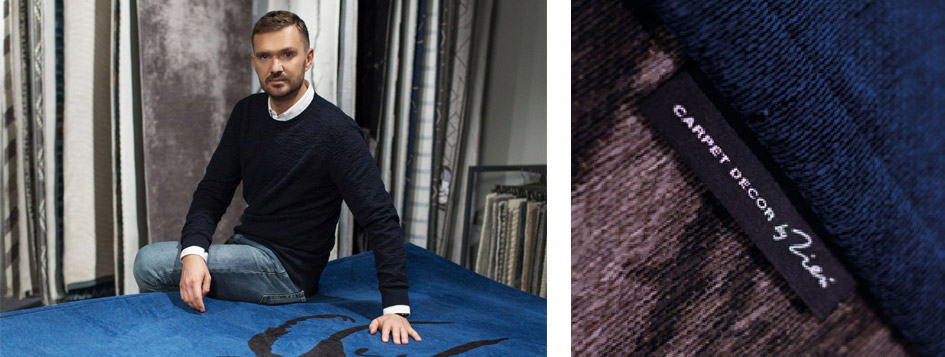 Stone. Kolekcja dywanów zaprojektowana przez Macieja Zienia