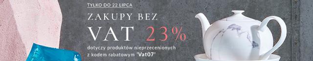 Zakupy bez VAT z kodem VAT07