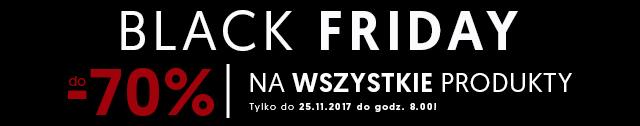 Black Friday | do -70% na wszystkie produkty
