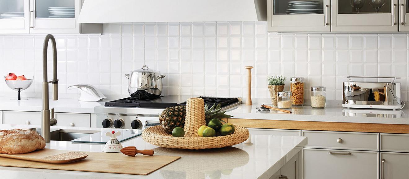 Kuchnia wyposażona w produkty Alessi