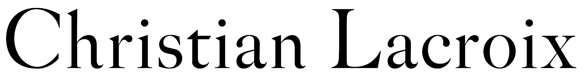 Christian Lacroix - Logo