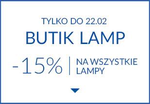 Butik lamp | -15% na wszystkie lampy