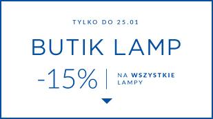 Butik lamp - 15% na wszystkie lampy