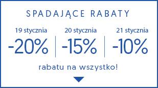 Spadające rabaty -20% -15% -10%! Nie przegap