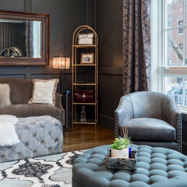Jaki dywan pasuje do wystroju glamour?